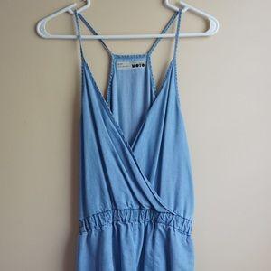 Top shop jean dress size 8